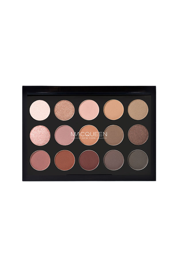 MACQUEEN Newyork 1001 Tone-On-Tone Shadow Palette