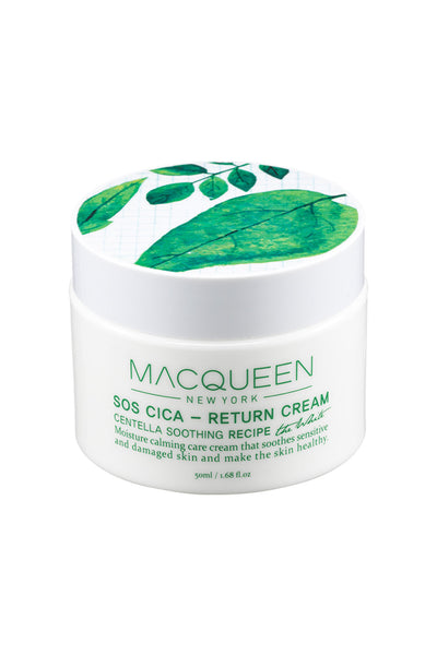 MACQUEEN Newyork SOS Cica-Return Cream