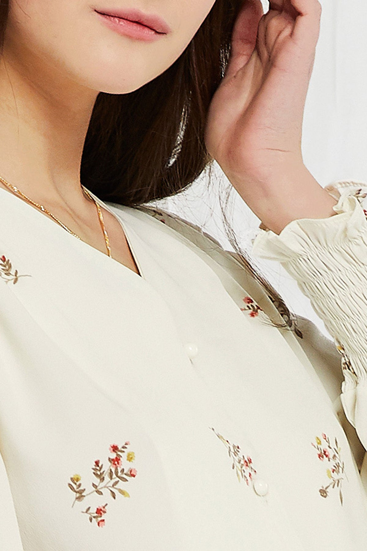 Karly Vintage Mood Blouse (Pre-Order)