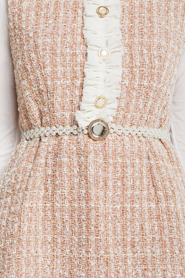 storets.com Jewel Buckle Pearl Belt