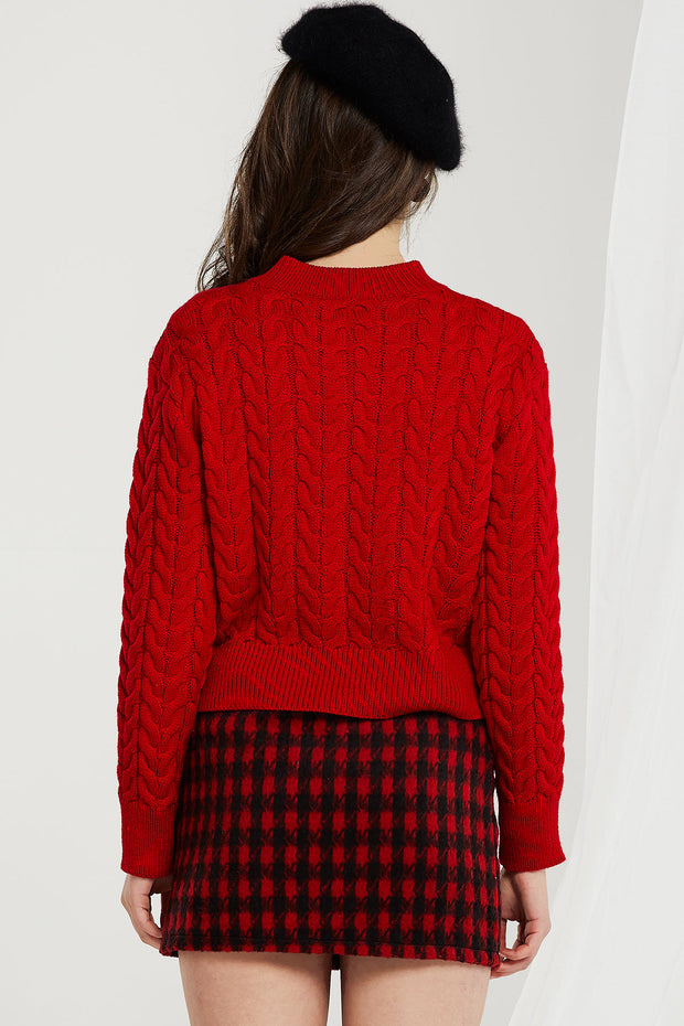 Zoey Sweater and Skirt 2-piece Set