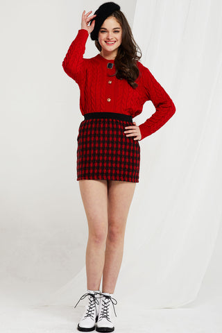 Zoey Sweater and Skirt 2-piece Set (Pre-Order)