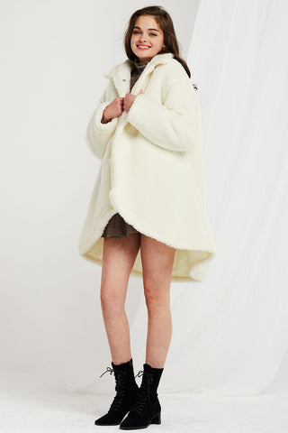 Eileen Teddy Borg Coat-2 Colors