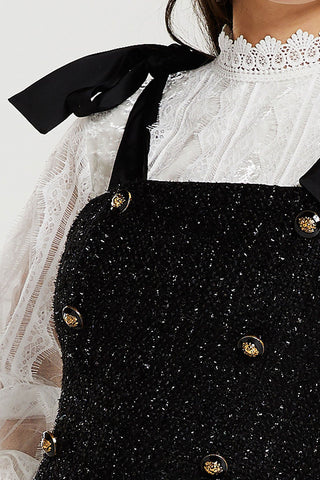 Natalia Pinafore Dress (Pre-Order)