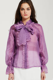 Moni Lace Trim Blouse