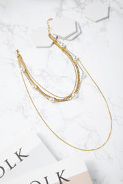 Layered Bold Chain Necklace