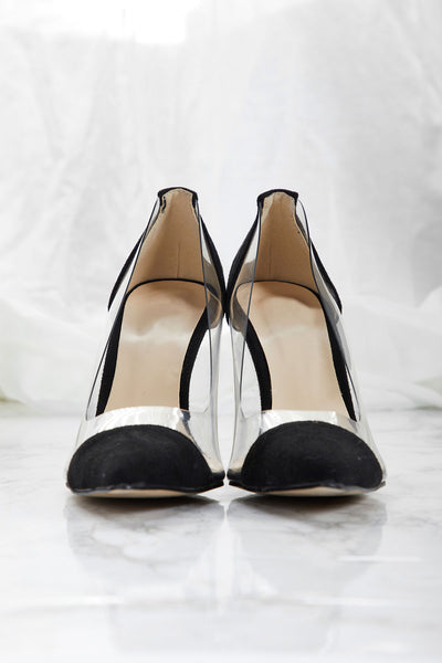 Clear Line Heels-2 Colors