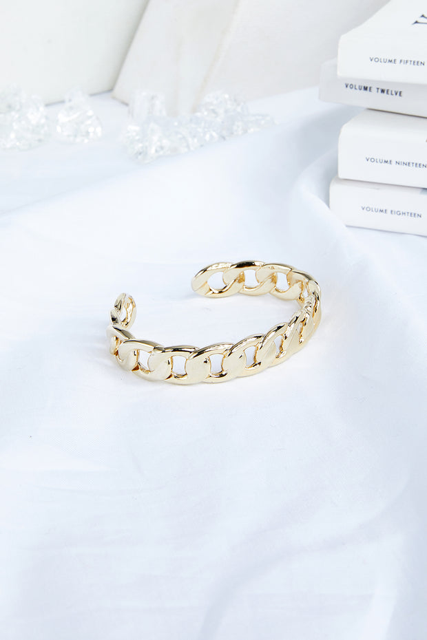 Cuban Link Chain Bangle