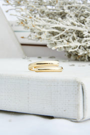 Multi Layered Bold Ring Set