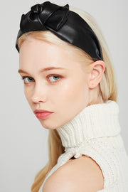 Top-Knot Pleather Headband