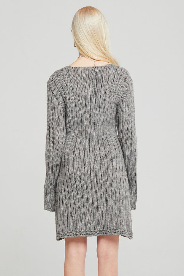 Lillian Button Down Sweater Dress