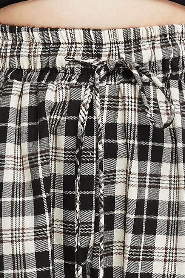Amy Plaid Joggers