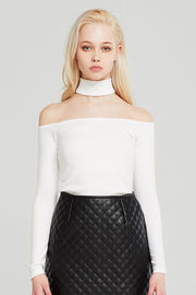 storets.com Ruby Choker Top
