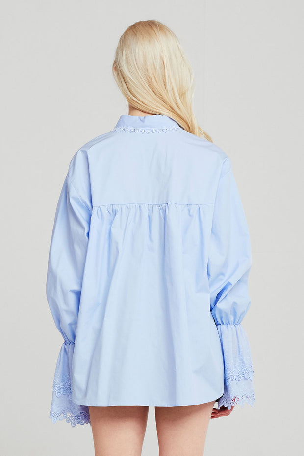 Cora Lace Trim Shirt