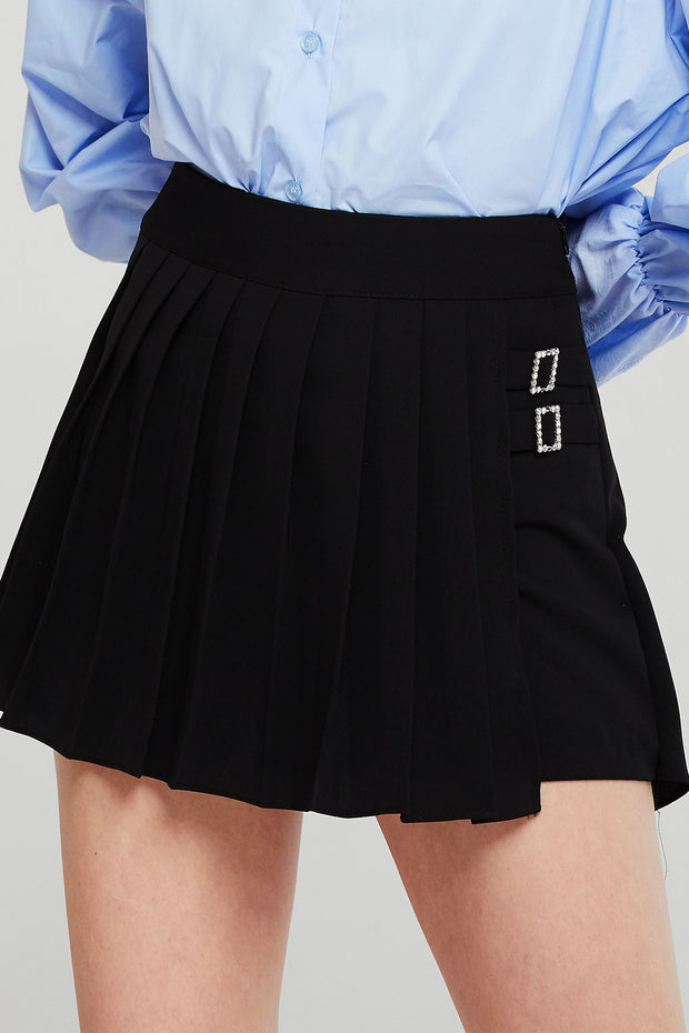 Danna Pleated Skater Skirt