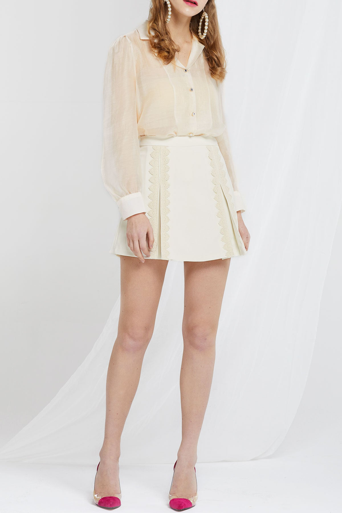 Matilda Kick Pleat Skort