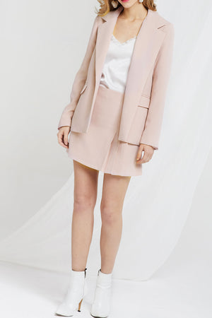 Madelyn Wide Notch Lapel Jacket (Pre-Order)