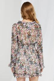 storets.com Leslie Garden Flower Smocked Dress