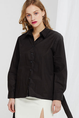 Jasmine Cut-out Cuffs Shirt