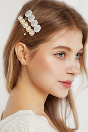 Graceful Pearl Hairpin Set