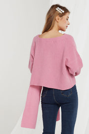 Juliana Asymmetric Knit Cardigan-2 Colors