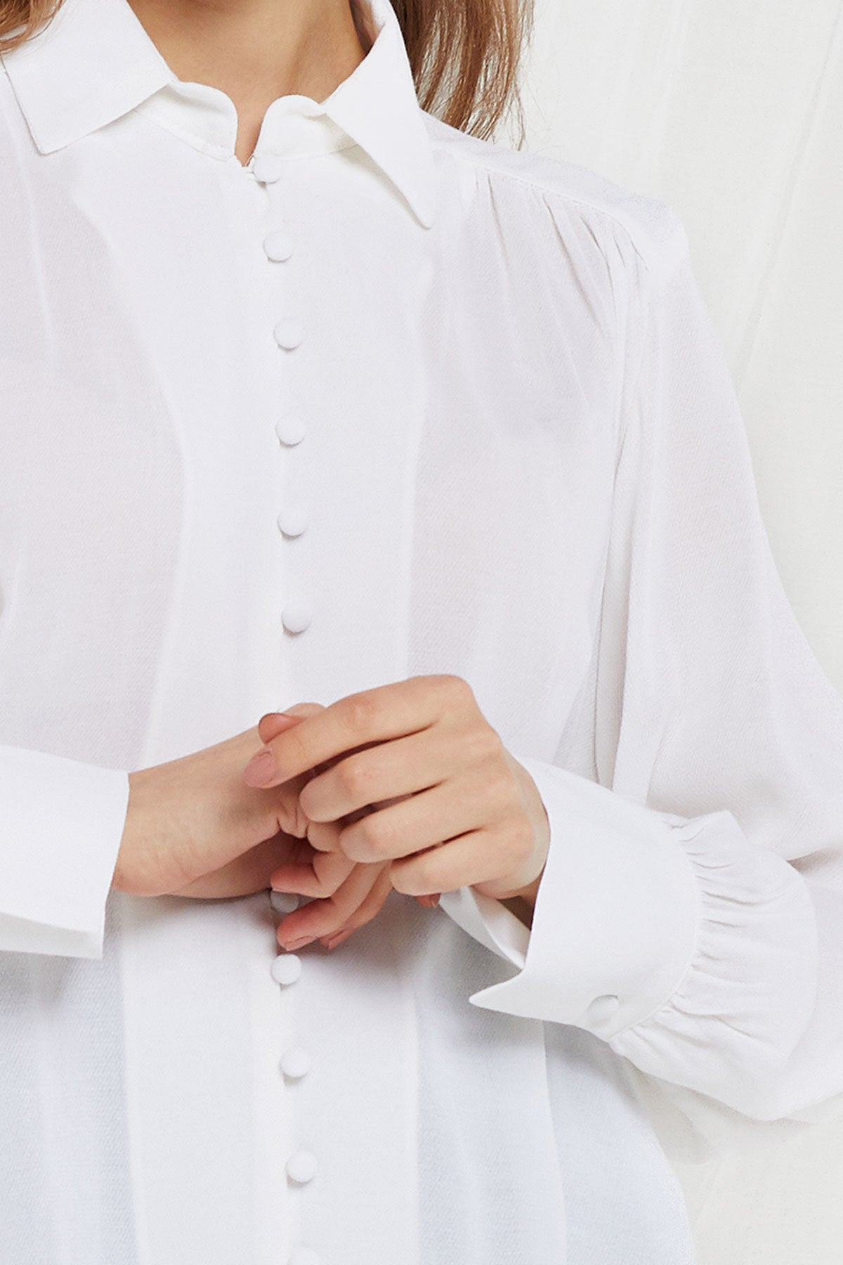 Kiersten Button Down Blouse (Pre-Order)