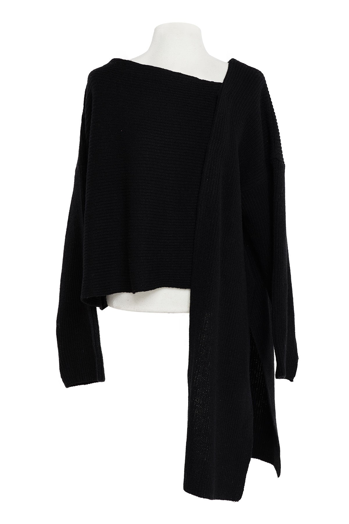 Juliana Asymmetric Knit Cardigan-2 Colors (Pre-Order)