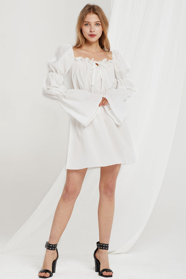 Effie Marie Sleeves Dress