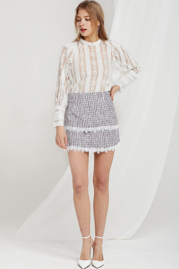Fay Delicate Lace Blouse