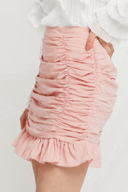 storets.com Merina Shirred Ruffle Skirt-2 Colors