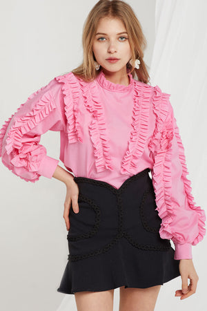 Ciara Frilled Blouse