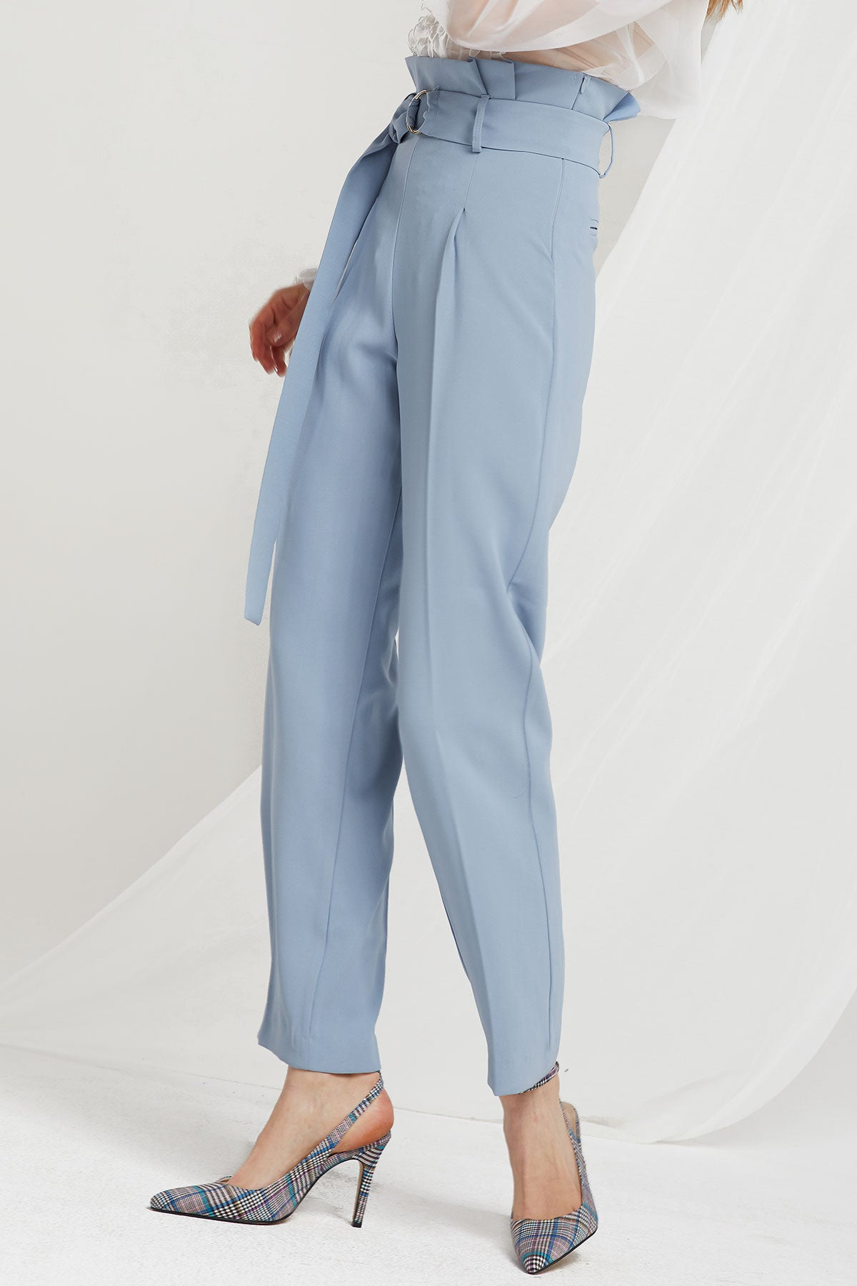 Nova High Waist Pants w/ Sash Belt (Pre-Order)