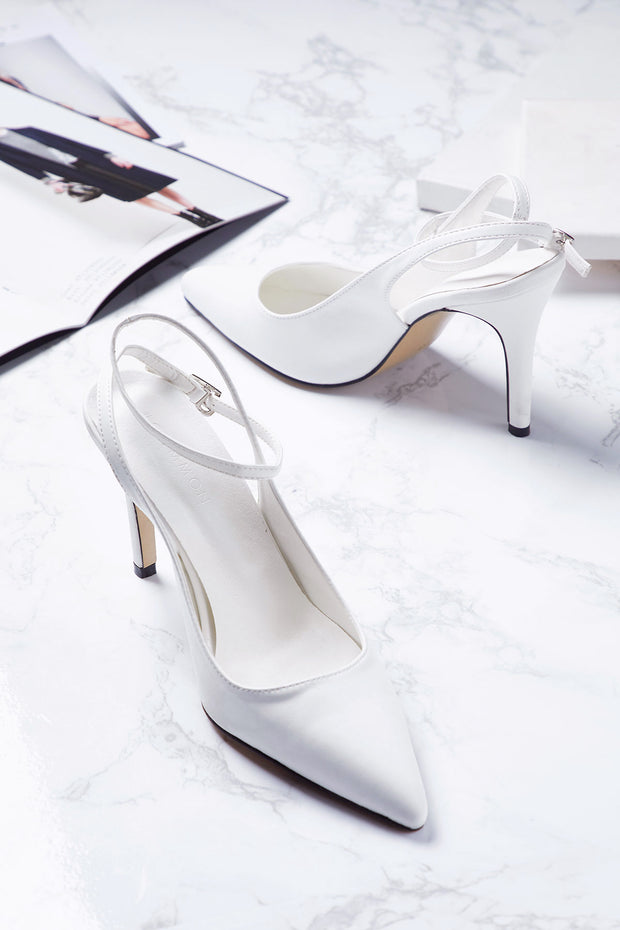Ankle Strap Stiletto Heels-2 Colors