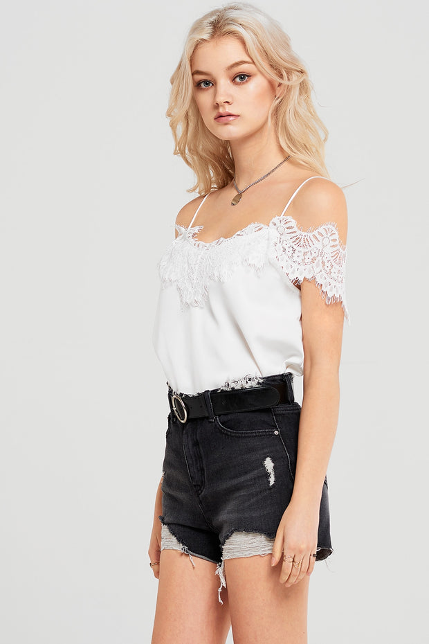 storets.com Avery Cold Shoulder Cami Top