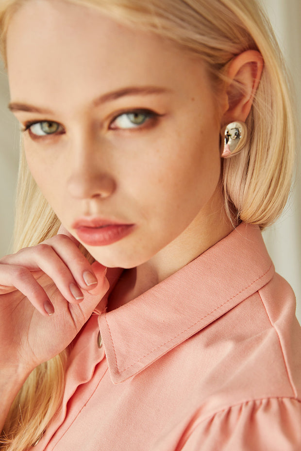 Bold Statement Stud Earrings