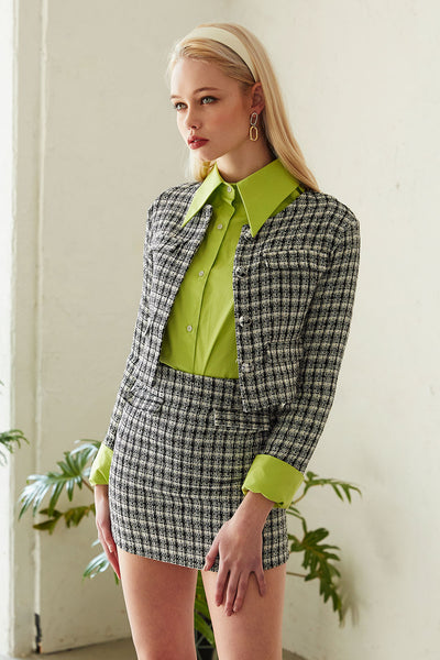 storets.com Mia Cropped Tweed Jacket