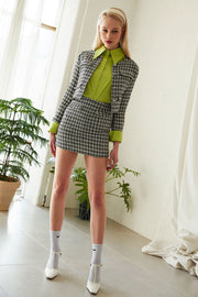 Mia Cropped Tweed Jacket