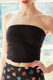 Morgan Ruched Tube Top