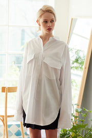 Journey Oversized Ruched Back Shirt