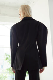 Ariel Structured Pintuck Jacket