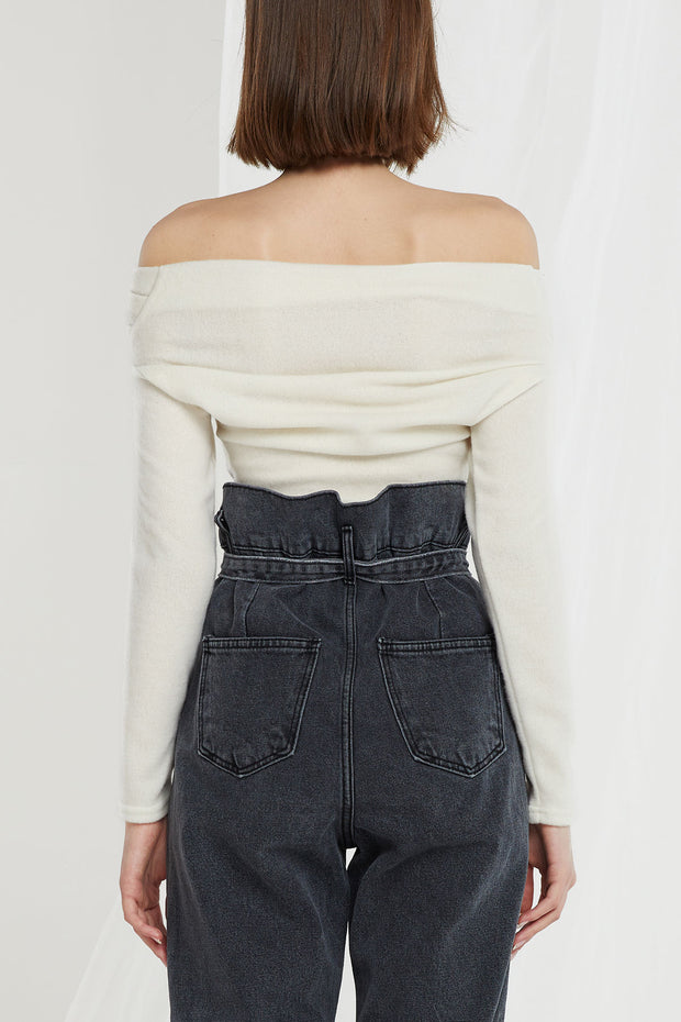 Calla Off Shoulder Wrap Top