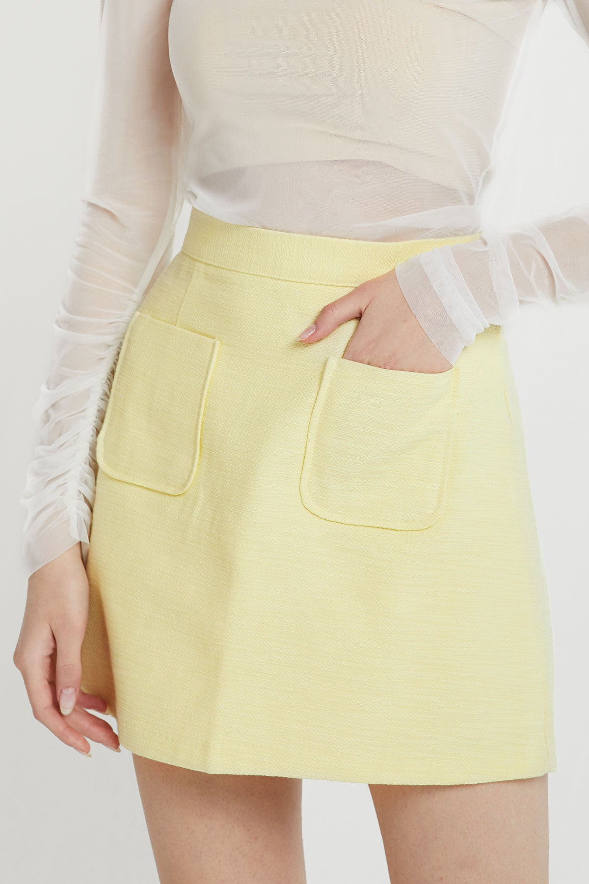 Siena Pocket Mini Skirt