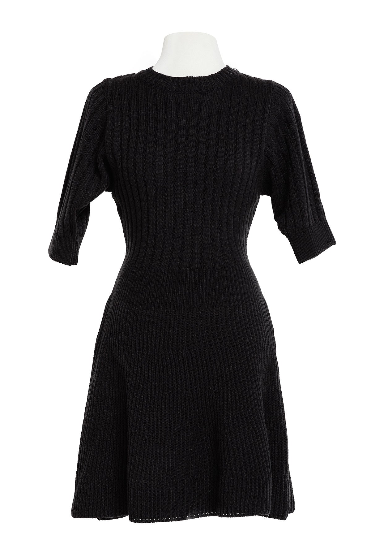 Bianca Puff Sleeve Knit Dress-2 Colors (Pre-Order)