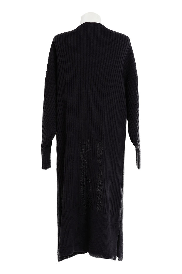 Greta Ribbed Knit Long Cardigan-2 Colors