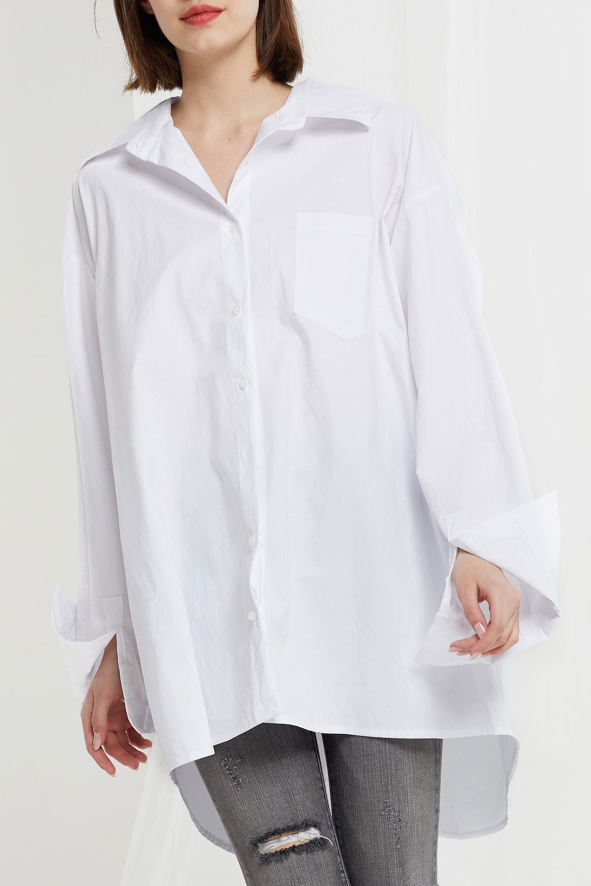 Vera Oversized Pocket Shirt