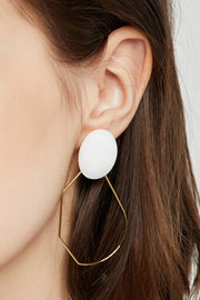 Nacre Hoop Earrings