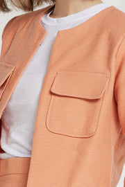 Siena Patch Pocket Crop Jacket-2 Colors