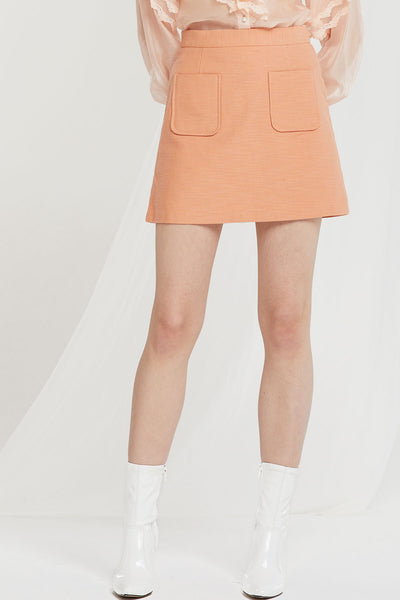 Siena Pocket Mini Skirt-2 Colors