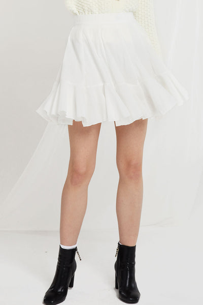 storets.com Isla Floaty Ruffle Skirt-2 Colors