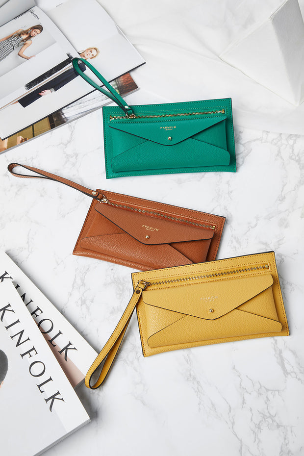 Pocket Wallet Clutch-3 Colors